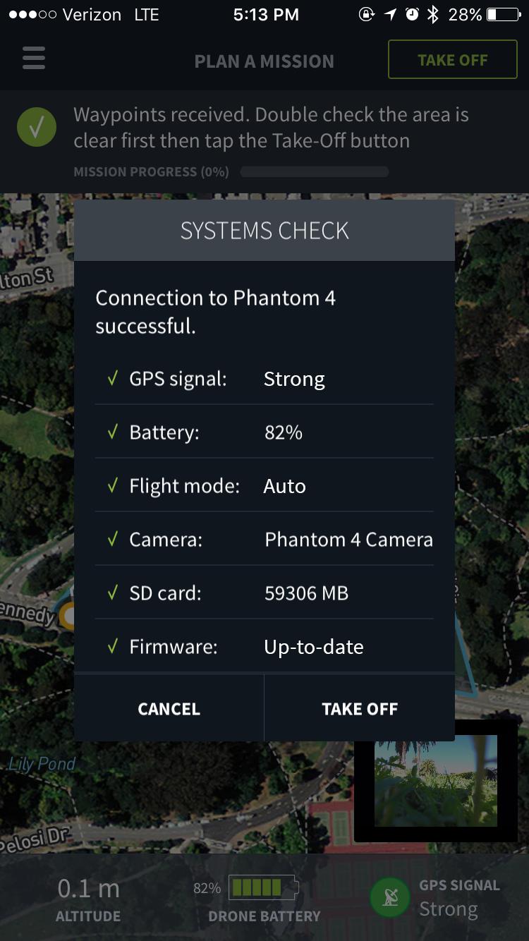 Drone check