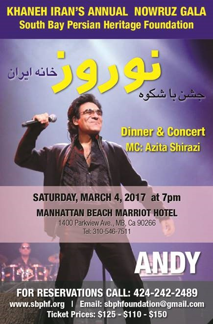 Events — Southbay Persian Heritage Foundation