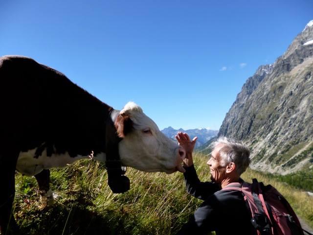 Timothy Merton in Chamonix, France