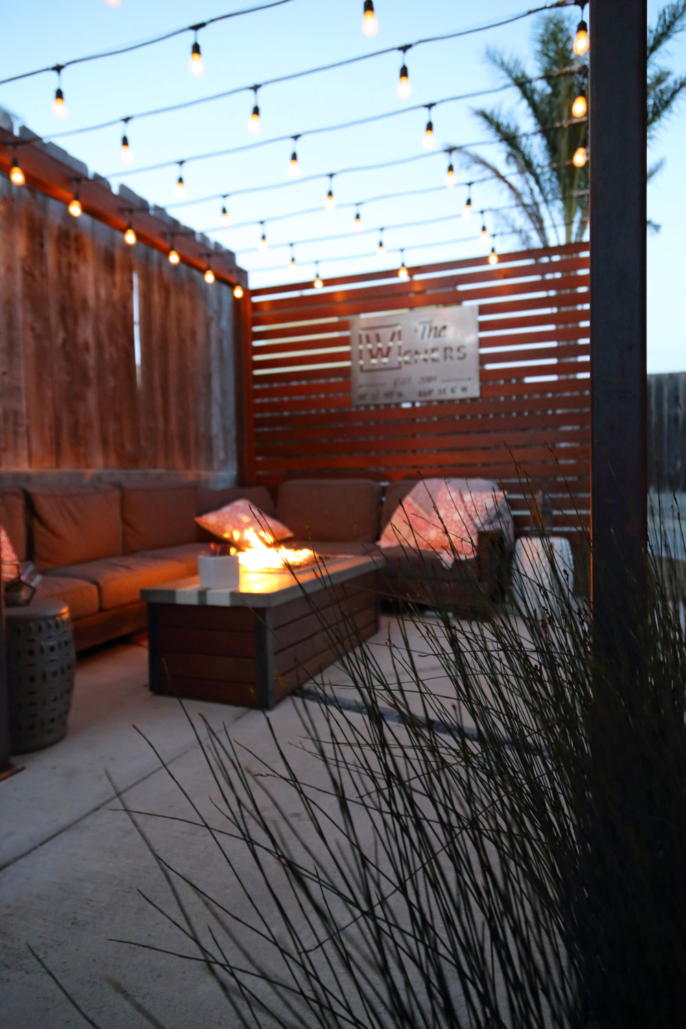 San Luis Obispo Landscape Design and Construction Fireside Lounge