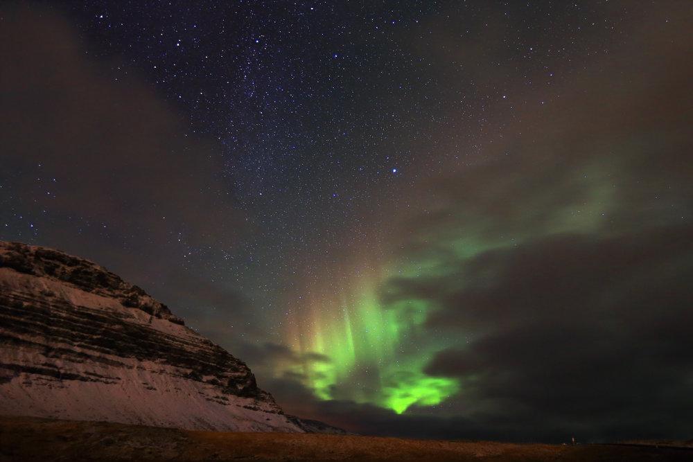 Northern Lights from Grundarfjörður