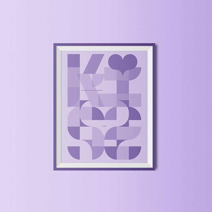 Malcolm Garrett: Purple