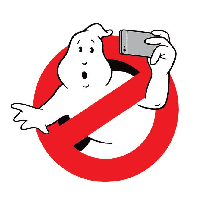 Ghostbusters: Selfies make me feel good!