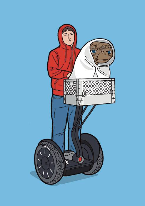 E.T. phone home... on a segway
