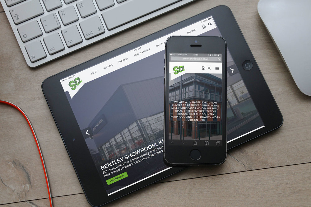 RESPONSIVE WEBSITE FOR COVENTRY-BASED STRUCTURAL STEELWORKERS