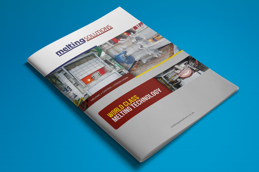 MELTING SOLUTIONS  A new brochure for a melting and heating equipment manufacturer