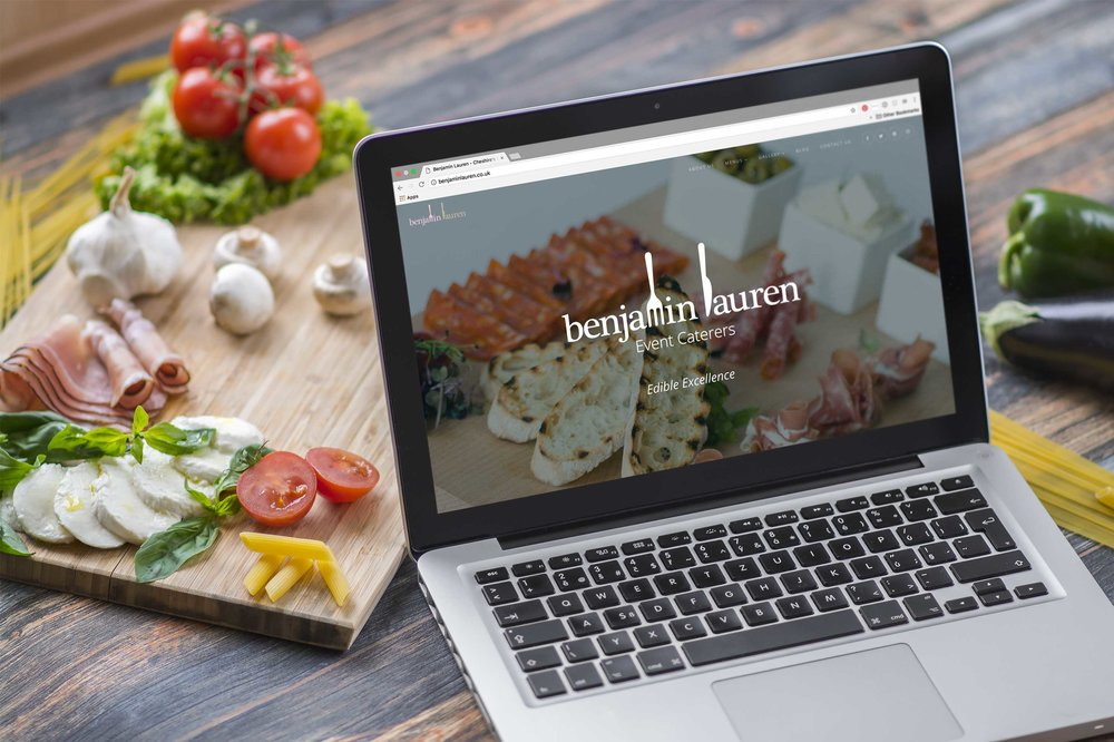 NEW RESPONSIVE WEBSITE FOR CHESHIRE-BASED EVENT CATERERS