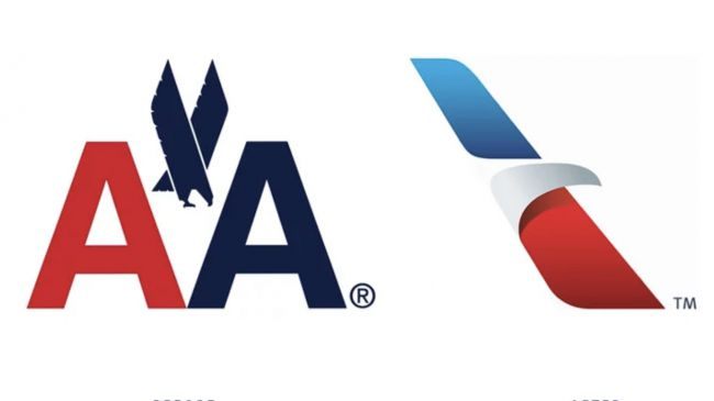 There was a huge backlash when American Airlines reduced the iconic Massimo Vignelli eagle in flight to an abstract beak back in 2013