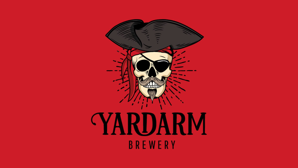 Yardarm Brewery branding by DWH Design
