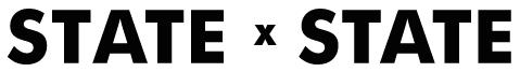 state x state logo