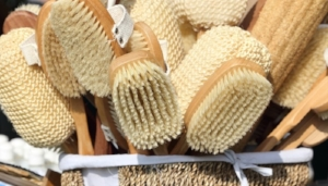 Body brushes…