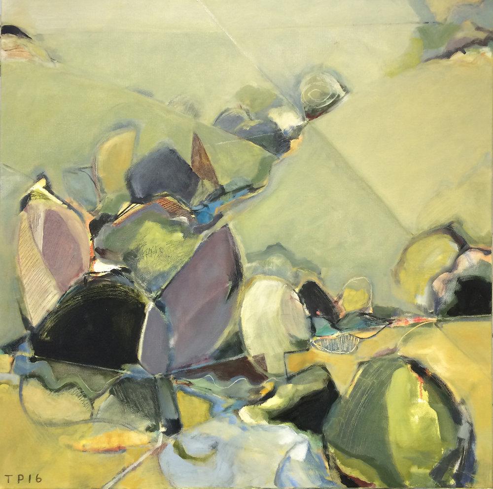 Hidden Spring  36 x 36   oil on canvas