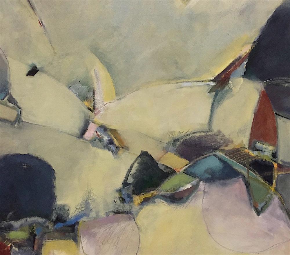 CA Barranca  36 x 36   oil on canvas