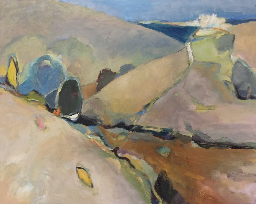 Dry River, California  24 x 30   oil on canvas