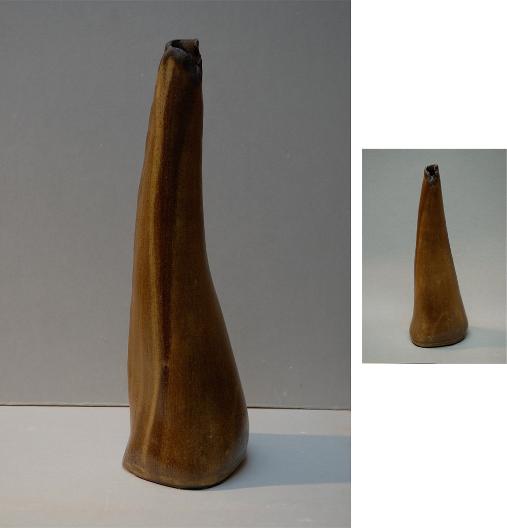 BLACK LIPPED VESSEL | 14 inches