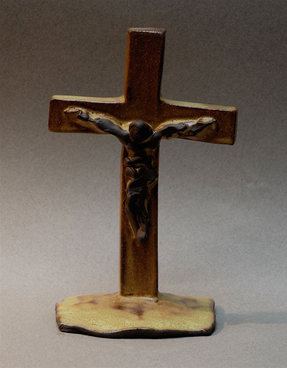 BLACK JESUS CRUCIFIX