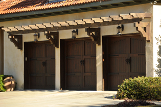 Signature® Carriage Combine the classic swing-open appearance and detailing of carriage house wood doors with the convenience of standard sectional garage doors.