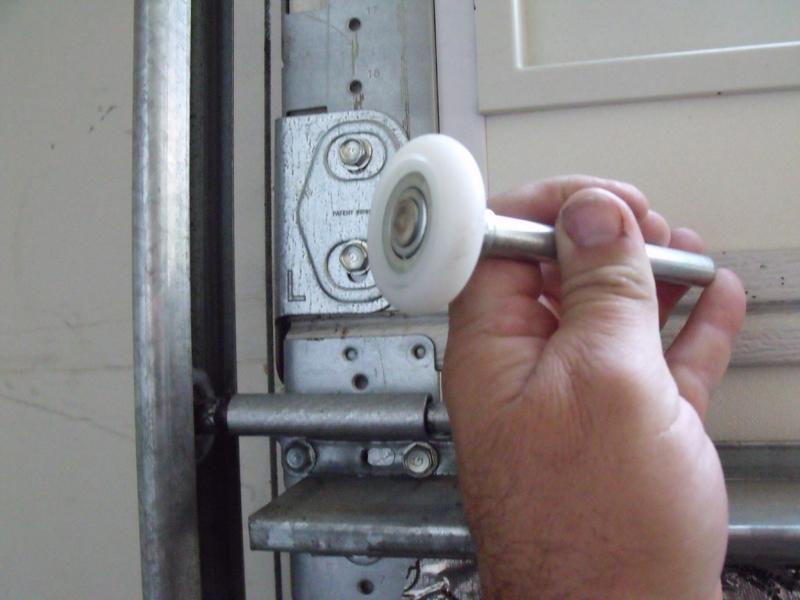 garage door rollers replacement - How To Replace Garage Door Rollers