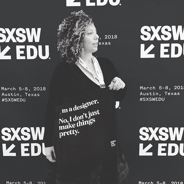 Our bags have been all around the world this year, empowering creative energy everywhere they go. Share your design truth with the world - grab your own tote today. Link in bio! #addflow #designstrategy #sxsw