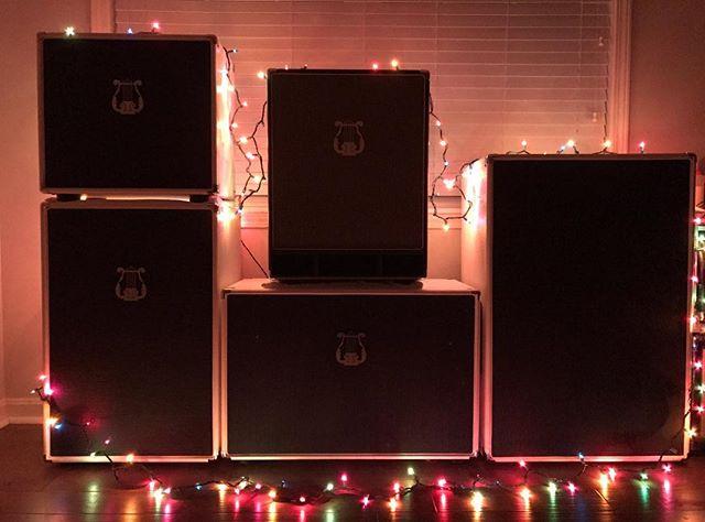 🎄🎄🎄Merry Christmas! 🎄🎄🎄 #christmas #sirensound #siren #guitar #guitarcab #bass #basscabinet #1x12 #2x12 #1x15 #215M