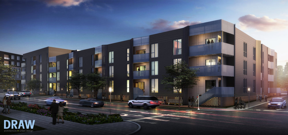 27th & McGee Apartments + Townhomes