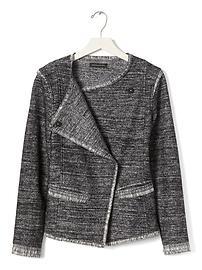 Tweed Jacket Black