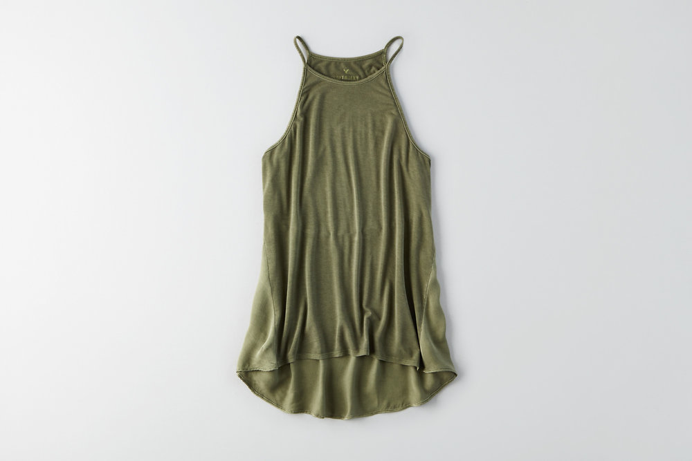 Soft & Sexy Hi-Neck Tank