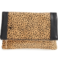 Sole Society Jemma Genuine Calf                    Hair Clutch