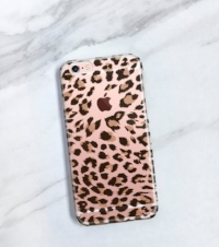 JoyMerrymanStore Fall Collection  Leopard Print iPhone 7, 6s, 6, 6 Plus                  Clear Case