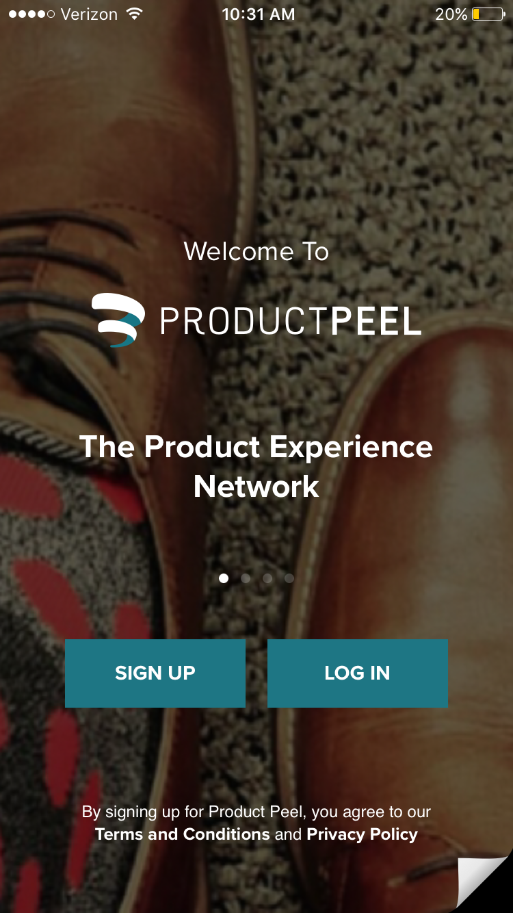 PRODUCTPEEL app available in the APP Store now!