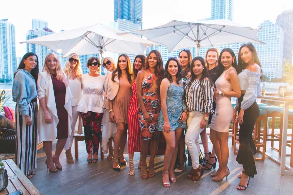 Style Collective   at Yaku by La Mar at the Mandarin Oriental Miami Hotel.  All photos courtesy   Taylor McGhee    (Follow Taylor McGhee Photography   HERE   on Instagram)
