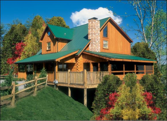 CABIN 13   - 4 Bedroom, 4.5 Bath, Sleeps 12 Photo Courtesy of Oak Haven Resort & Spa