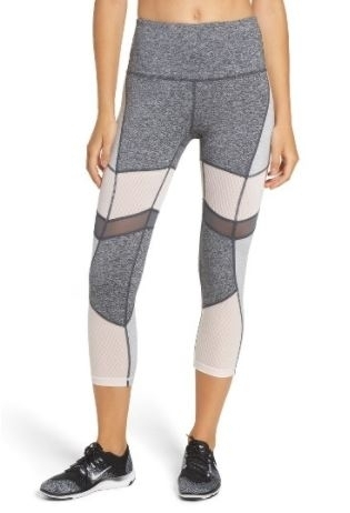 Zella High Waist Crop Leggings