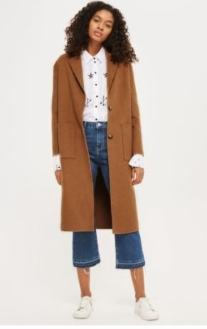 Topshop Long Coat