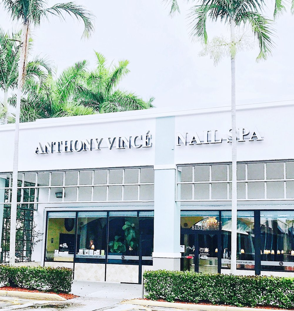 Anthony Vince' Nail Spa  (Plantation, FL location)