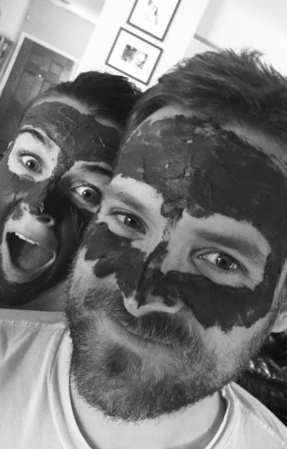 mud mask monday.