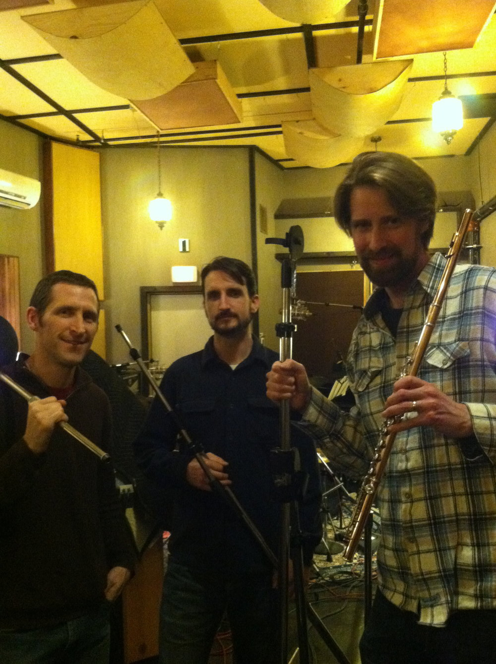 Recording at The Map Room with Ken Ollis-drums,  and Bill Athens-bass, Portland, OR