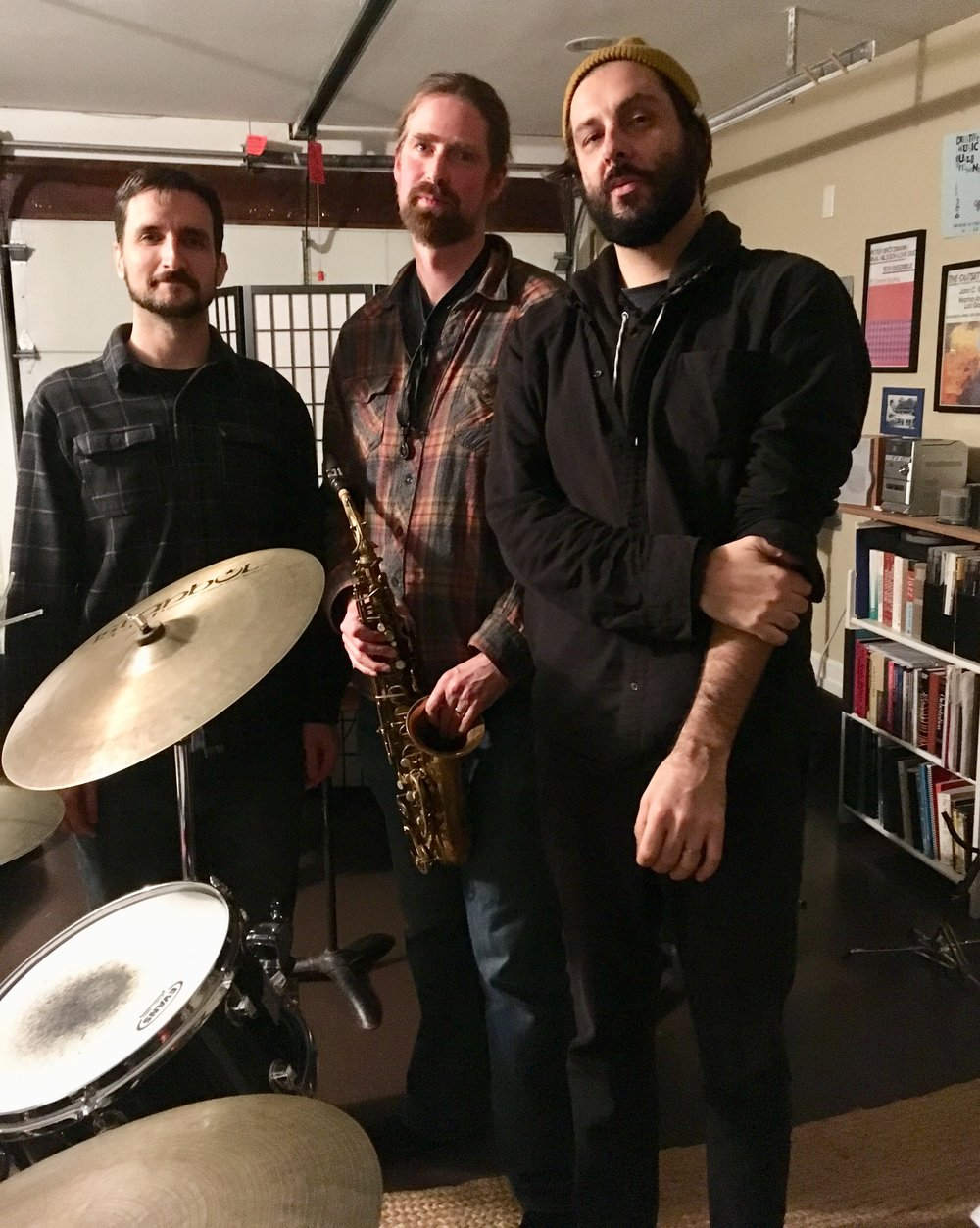 Lie Very Still - 5:15-5:45, Friday, June 6John C. Savage: saxophones, flutes, and compositionsMike Gamble: electric guitarKen Ollis: drum setPresented by the Creative Music Guild