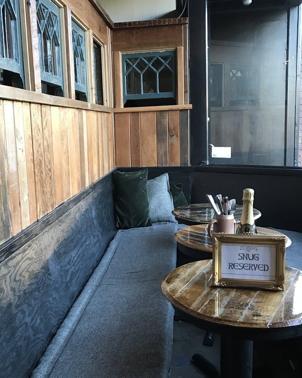 tcolearys tc olearys irish pub snug reservations by cassandra ericson