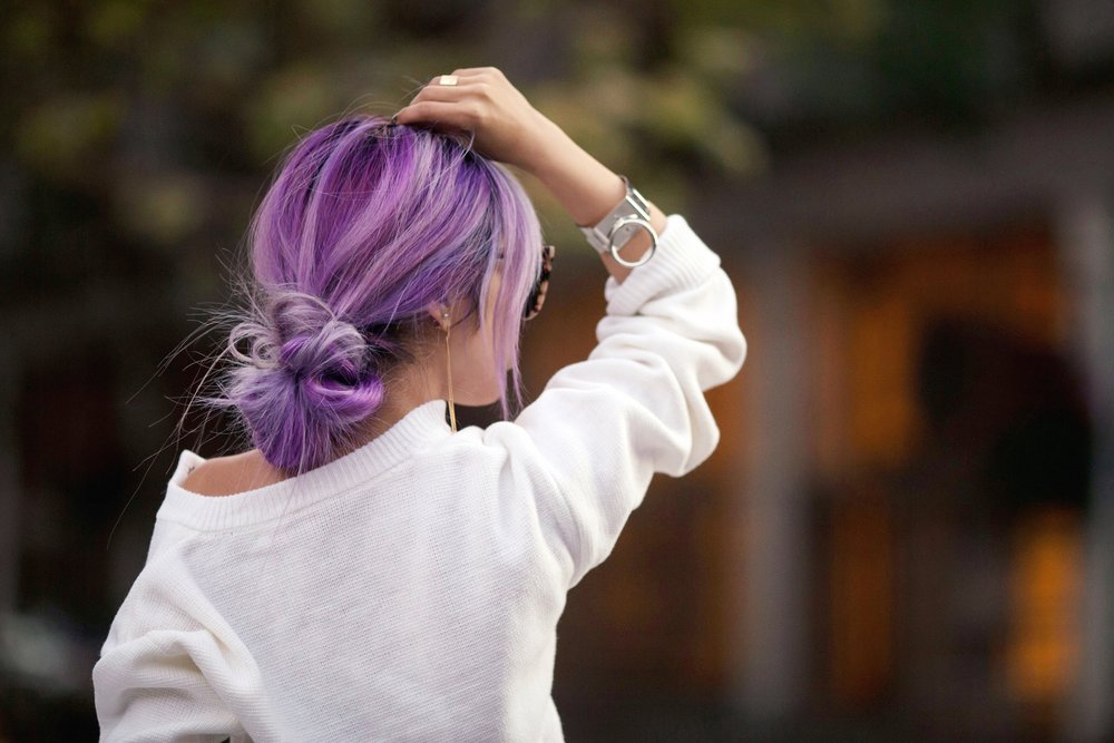 Aikas Love Closet_Seattle Fashion Blogger_Japanese Fashion_Lavender Hair_Purple Hair