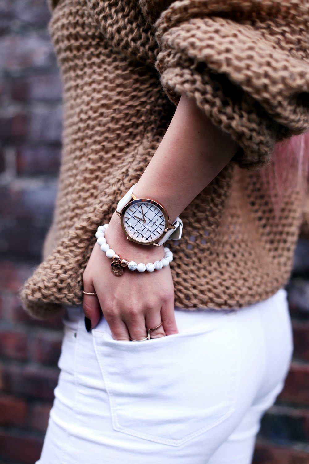 Christian Paul 43MM WHITEHAVEN GRID Watch_Aika's Love Closet_Seattle Fashion Blogger from Japan