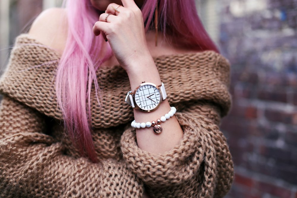 Christian Paul 43MM WHITEHAVEN GRID Watch_Aika's Love Closet_Seattle Fashion Blogger from Japan 2