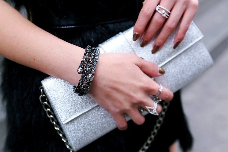Swarovski Fabulously Necklace   Fabulously Clip Earrings Revolve Black Fur  Vest Express Hight Waist Mini Skirt Mango Patent Belt Steve 8554f113a3