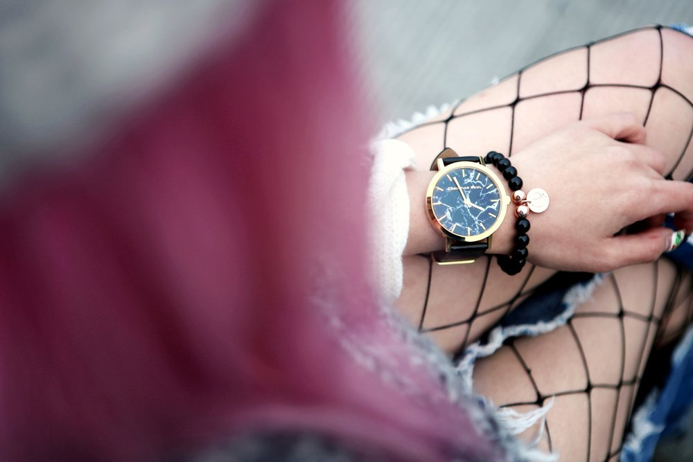 Christian Paul Watch 43mm Brighton Marble-AikA's Love Closet-Seatle Fashion Blogger-Japanese 2