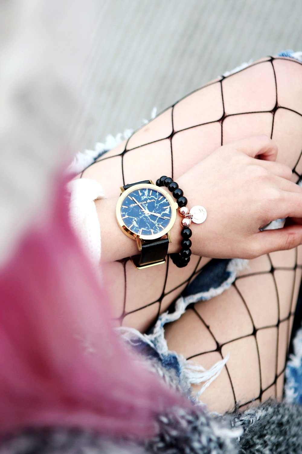 Christian Paul Watch 43mm Brighton Marble-AikA's Love Closet-Seatle Fashion Blogger-Japanese 5