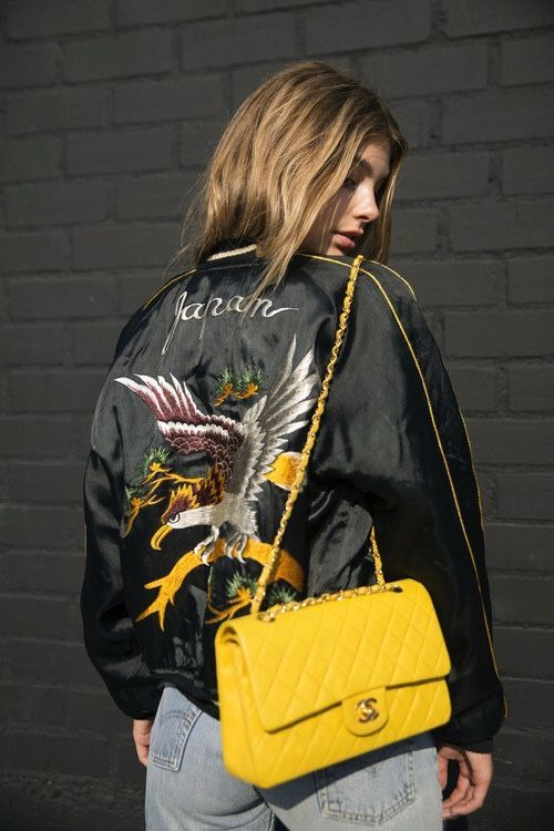 Yellow Chanel Boy Bag-street style inspiration-aikas love closet-seattle style blogger-japanese.jpg
