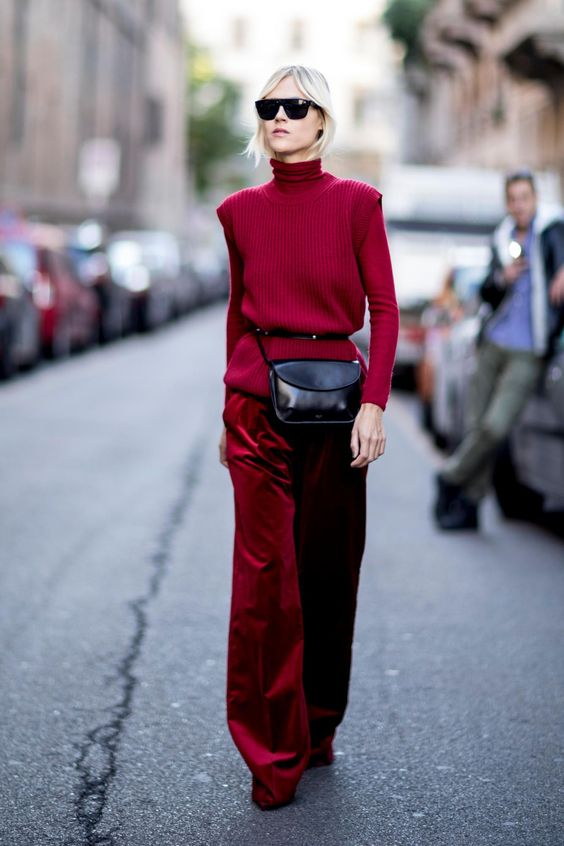 Top Velvet Fashion Trends for winter- aika's Love closet-japanese-seattle style fashion blogger-colored hair- street snap-red velvet trousers.jpg