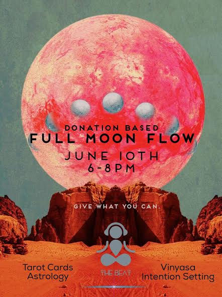 Lets flow under the Full Moon. -