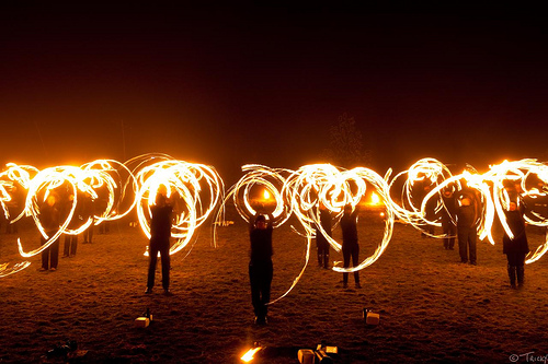 Fire Poi & Fire Staff Workshop!! -