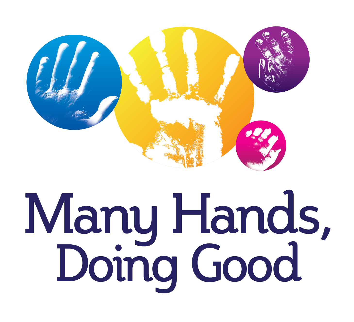 Many hands, doing good